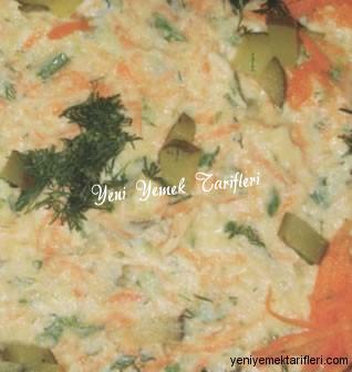 Cevizli Havuç Salatası