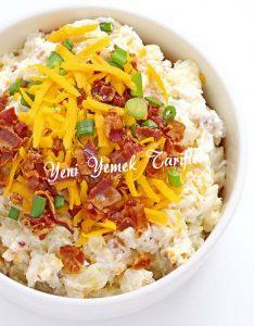 Fırınlanmış Patates Salatası