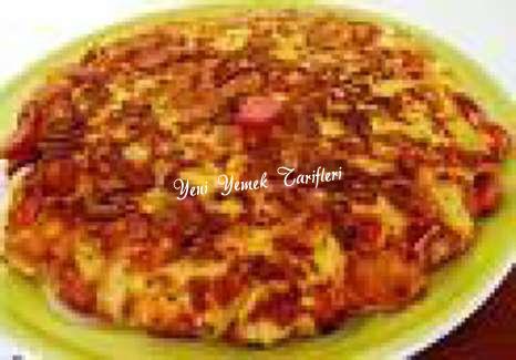 Sebzeli Ekmek Omleti