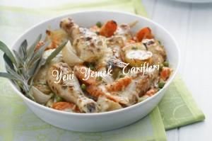 Sebzeli Tavuk Graten