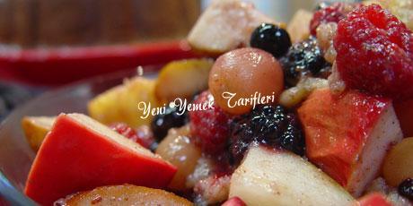 baharat ve meyveler