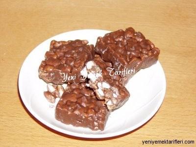 Çikolatalı Pirinç Gevrekli Gofret