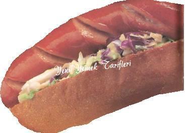 Izgara Sosisli Sandviç