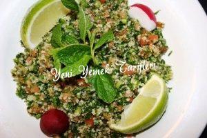 Maydanozlu bulgur salatası